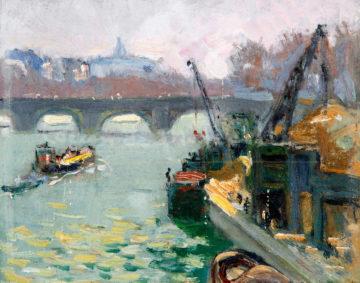 La Seine au pont de Bir Hakeim