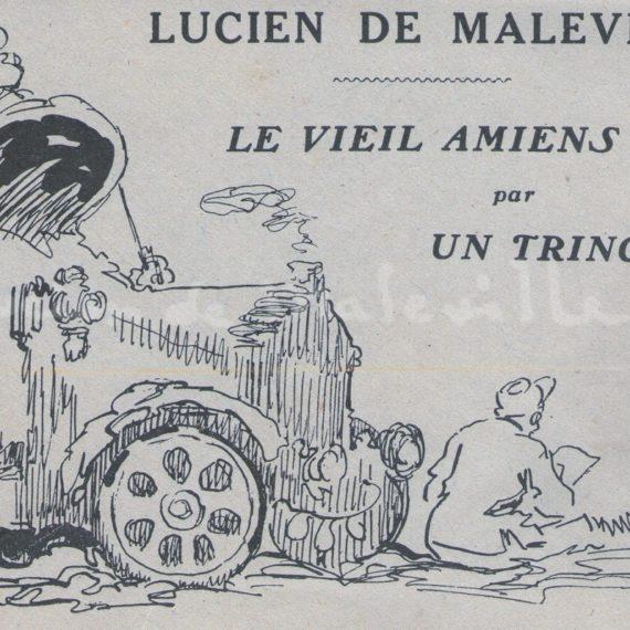 Le Vieil Amiens par un tringlot