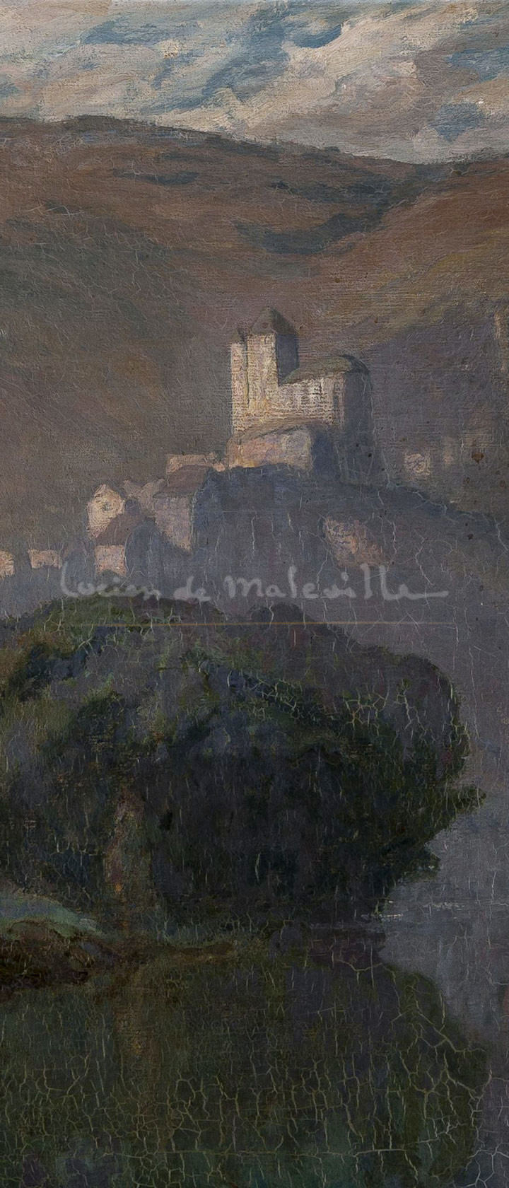 Brumes matinales dans la Vallée du Lot, 1924