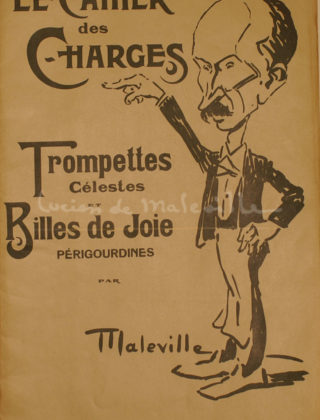 Cahier des charges 1910
